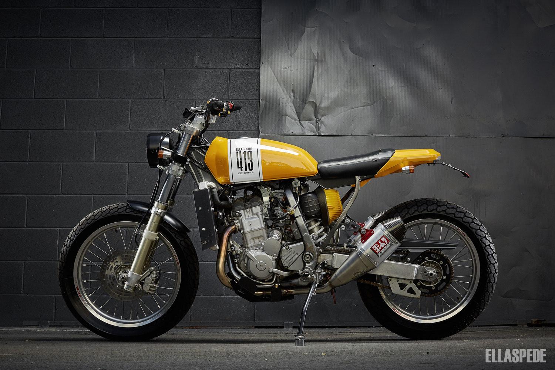 Racing Cafè: Suzuki DRZ 400 by Ellaspede