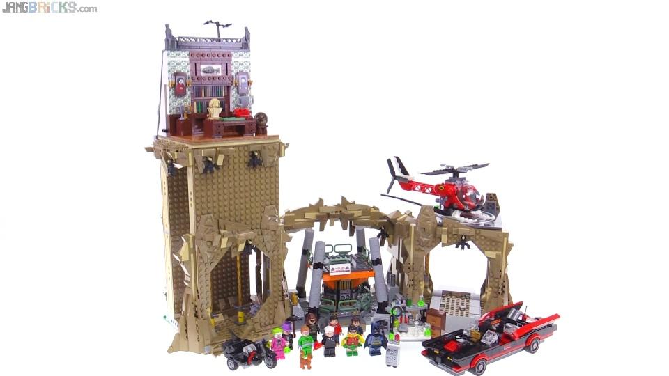 LEGO Classic Batman TV series Batcave set build & review! 76052