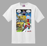 SDCC 2018 Shout Factory Exclusive Mystery Science Theater The Bots Go To The Con t shirt by Steve Vance