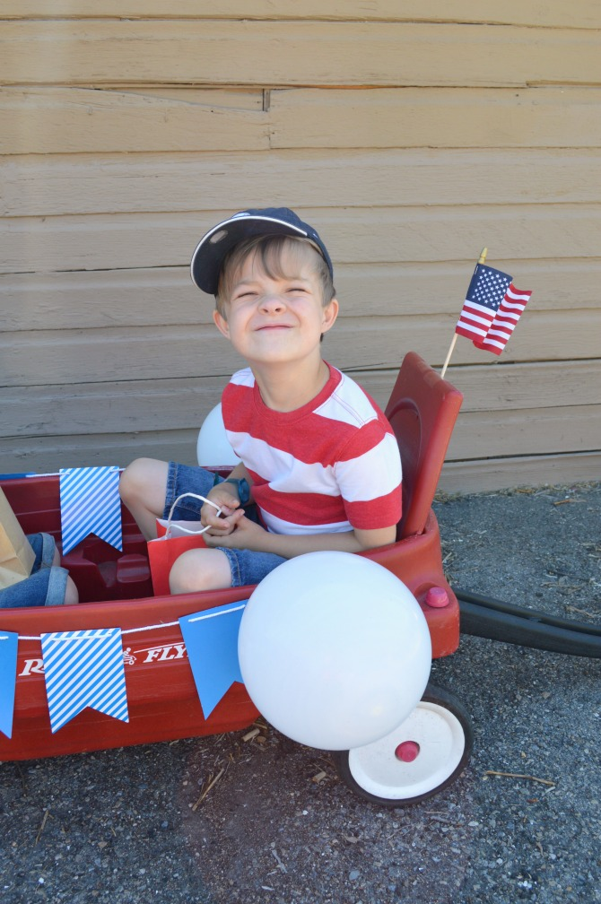 Children s parade: a 4th of july tradition