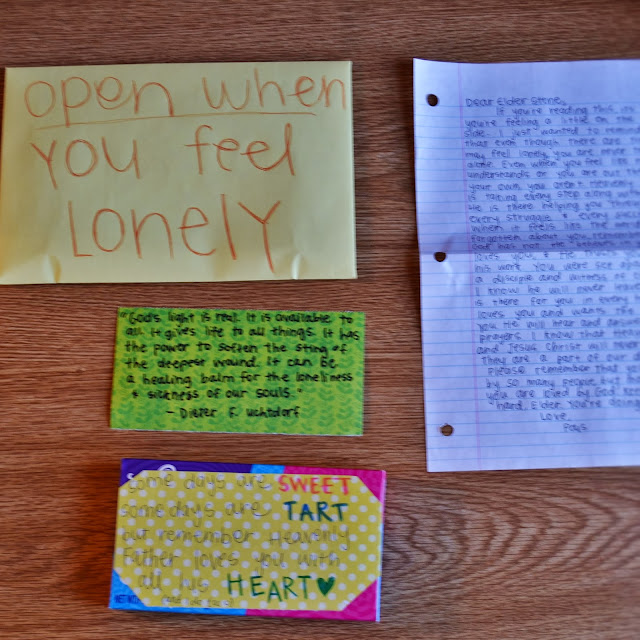 Open When You Re Feeling Lonely Letter
