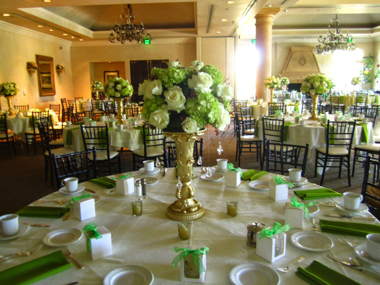 Wedding Centerpieces Spanish Hills Country Club Camarillo Ca