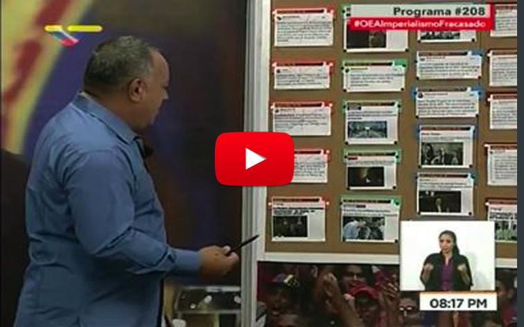 Diosdado promete cambiarle el nombre a El Nacional y le pondrá The Furrial Times