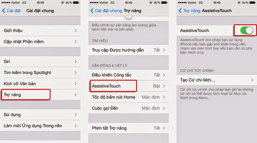 2 cách chụp ảnh màn hình iPhone (3S, 4, 4S, 5, 5S, 6) cực đơn giản