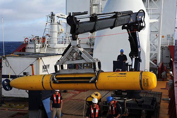 La USNavy despliega sumergibles no tripulados en la búsqueda del ARA San Juan