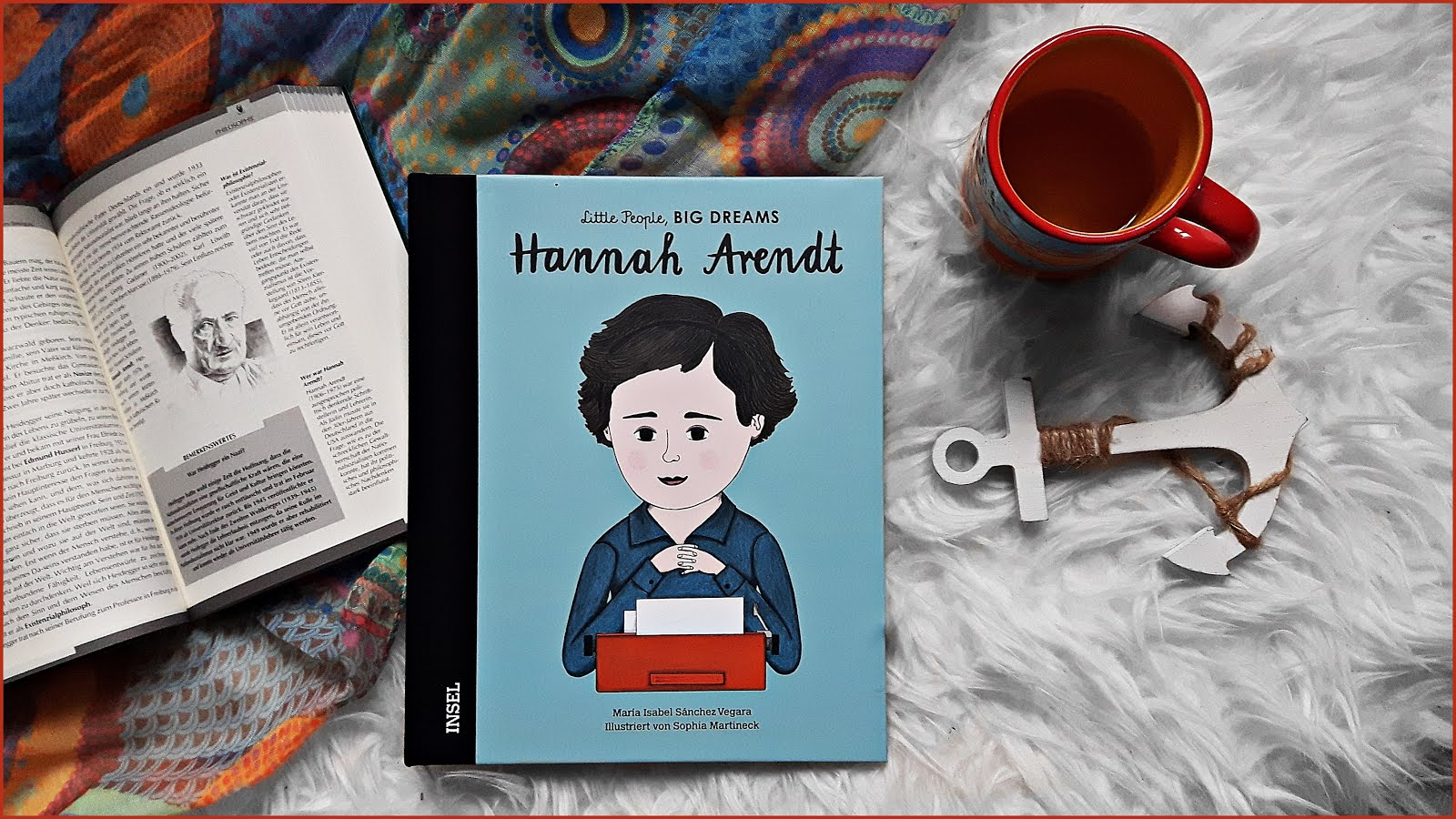Little people Big dreams Hannah Arendt