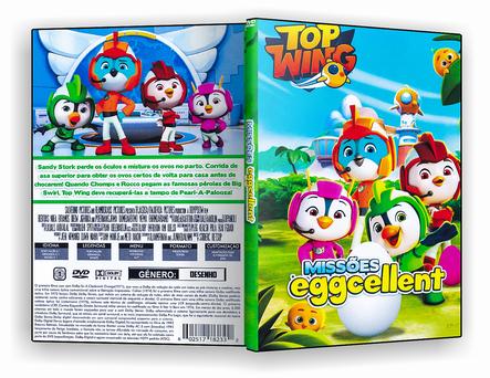 CAPA DVD – Top Wings Missões Eggcellent – ISO
