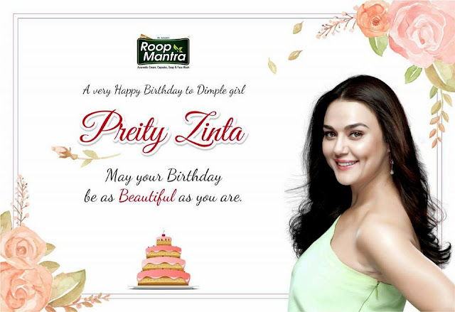 Wishing you another year of Success Health & Happiness-Happy Birthday Real Preity Zinta