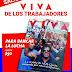 Los trabajadores de AGR-Clarín encendieron las rotativas para imprimir su propia Revista Viva