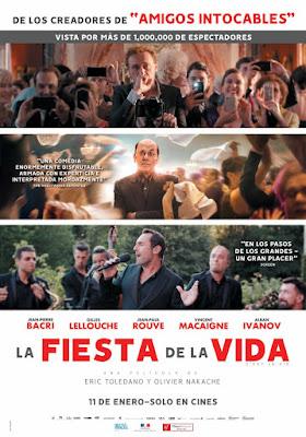 Le Sens De La Fête 2017 DVD R2 PAL Spanish