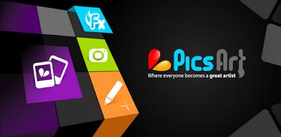 تطبيق التحرير على الصور PicsArt Photo Studio مهكر كل شي مفتوح