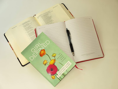 Bible study with Journaling Bible and Journal