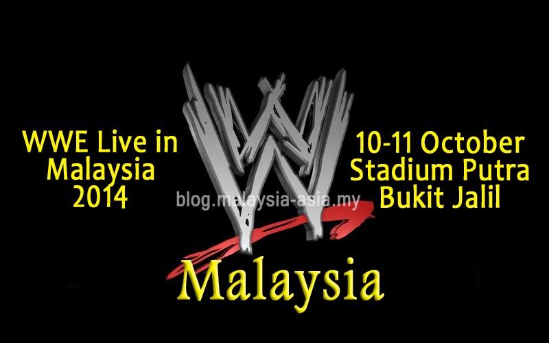WWE Live in Malaysia 2014