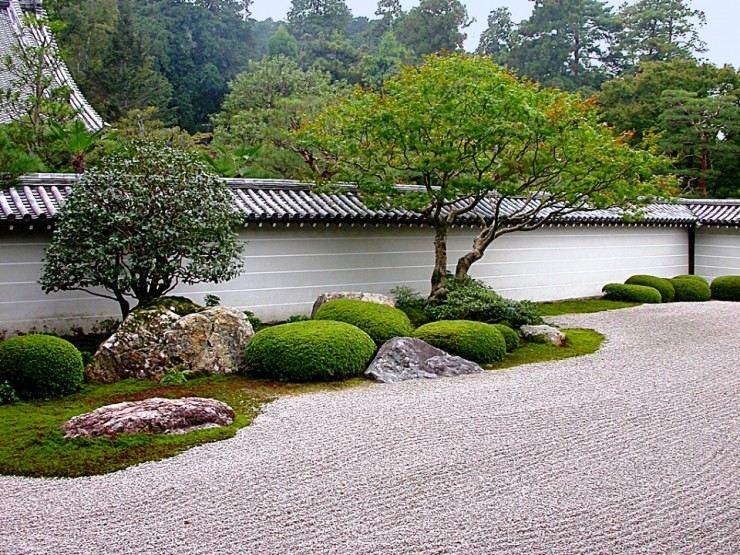 Gambar Desain Taman Kering Jepang