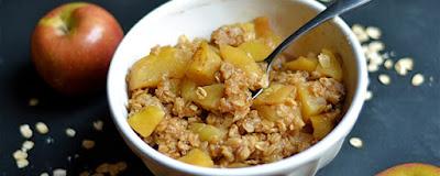 Köstliche Apfel knackig Dessert