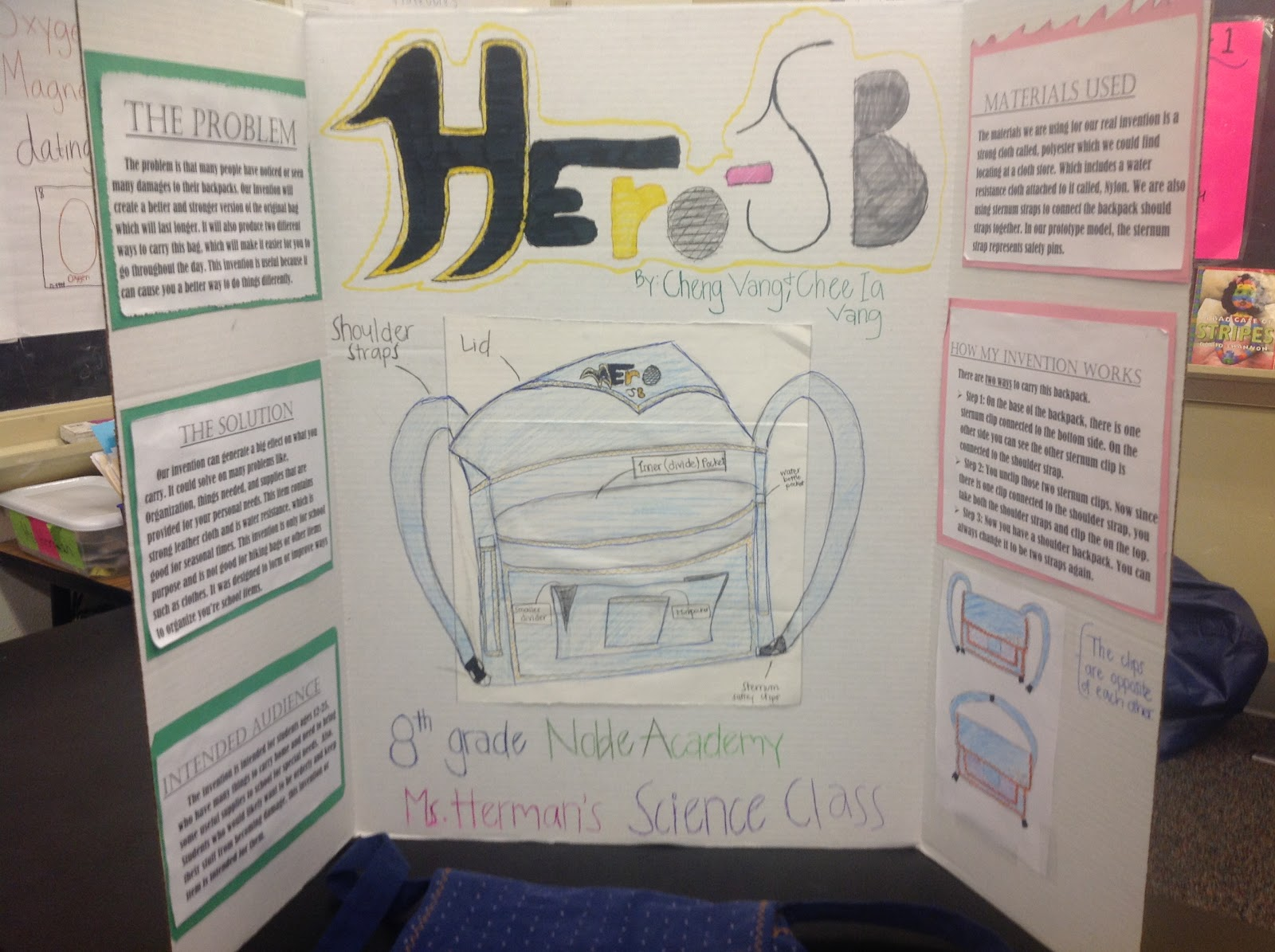 Good 8th Grade Invention Ideas