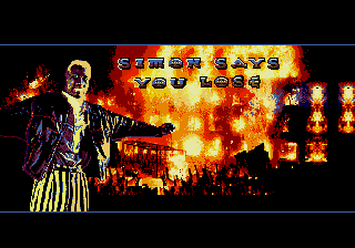 Demolition Man genesis mega drive game over