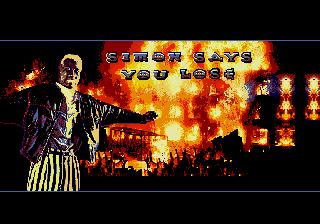 Demolition Man genesis mega drive game over
