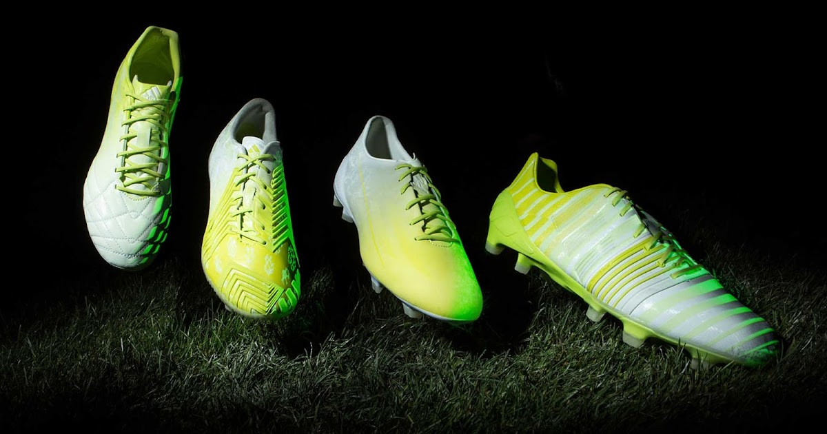 Adidas Hunt Football Boot Pack Glow In The Dark Cheap Soccer Cleats