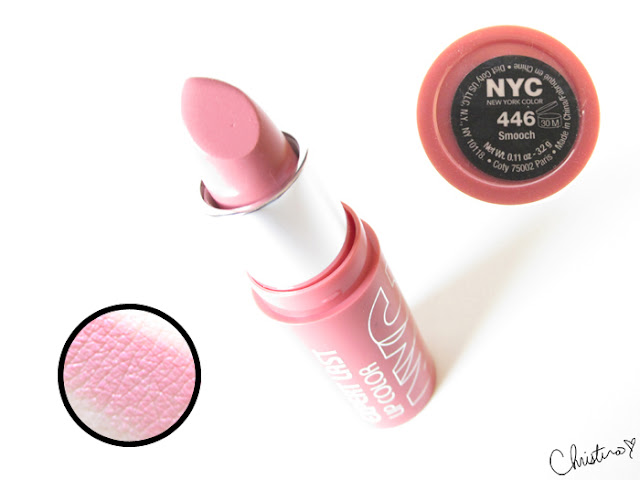 New York Color Expert Last Lipstick Swatch Review 446 Smooch