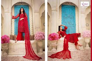 Rinaz fashion jasmin vol 5 Net work Pakistani Suits eid and Ramzan Collection