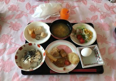 清風苑の朝食