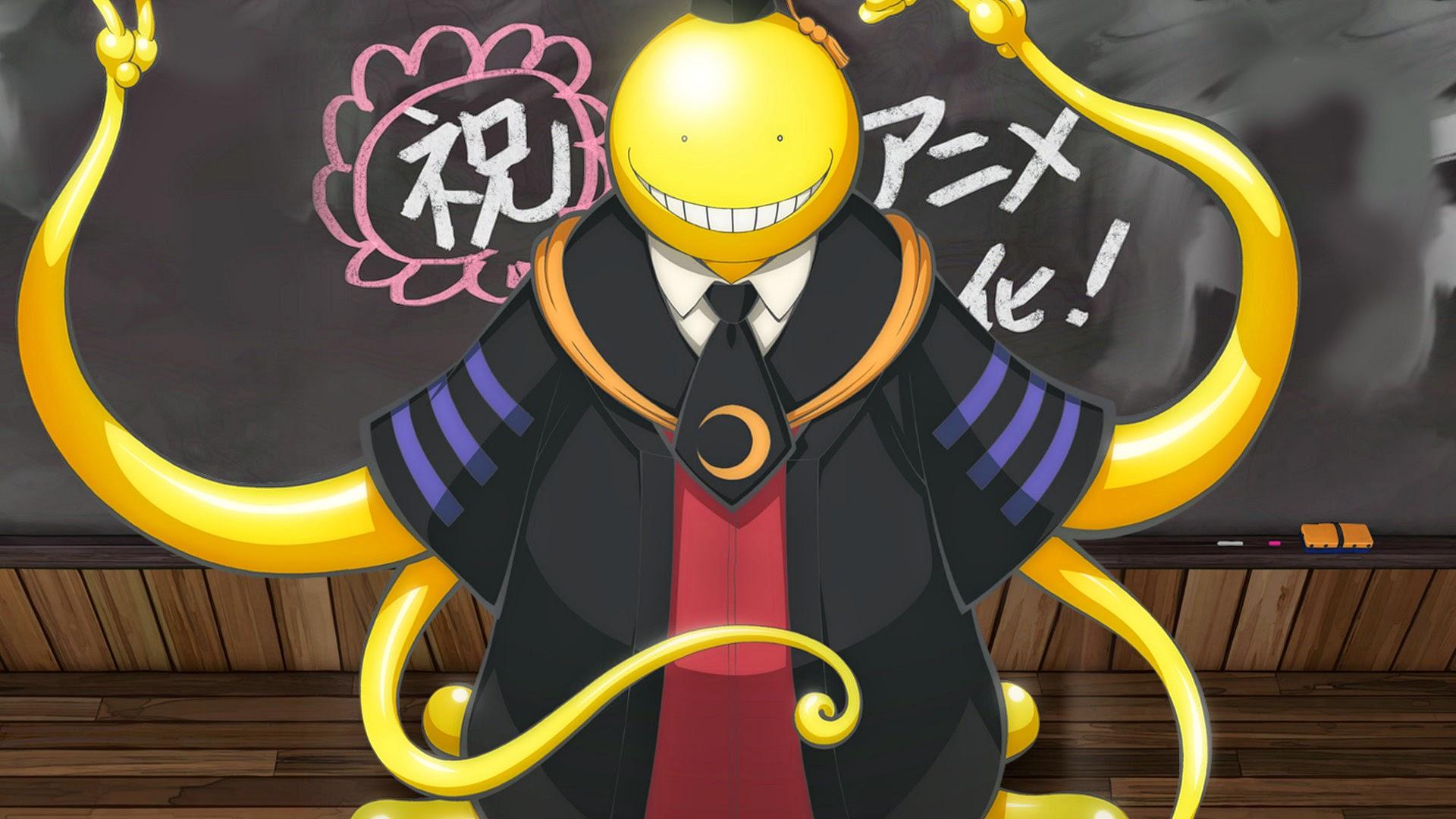 Nauczyciel-ośmiornica z anime Ansatsu Kyoushitsu