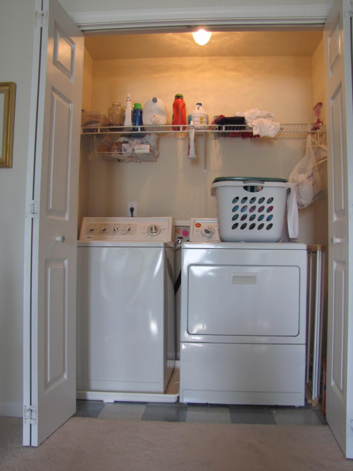 Cheriesparetime Laundry Closet Makeover