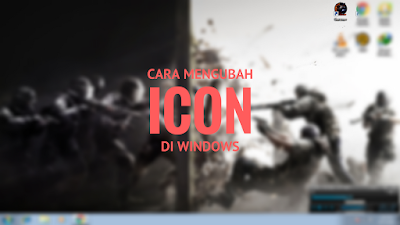 Tutorial Mengubah Icon Shortcut Windows 7 2