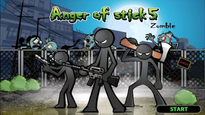 Download Anger of Stick 5 Apk v1.1.0 MOD Terbaru Update (Free Shopping)