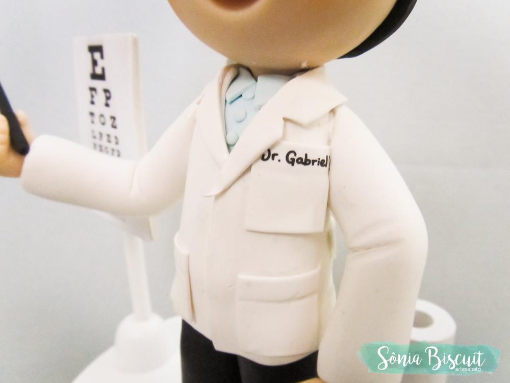 Sonia Biscuit, Biscuit, Oftalmologista, Medico
