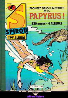 Album Spirou, numéro 179, 1985