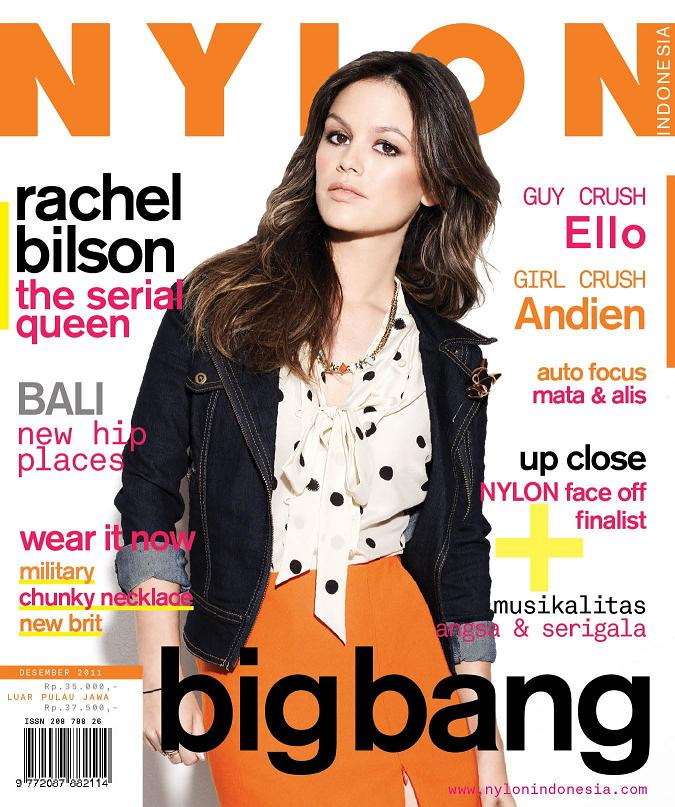 Rachel Bilson covers Nylon Indonesia, December 2011