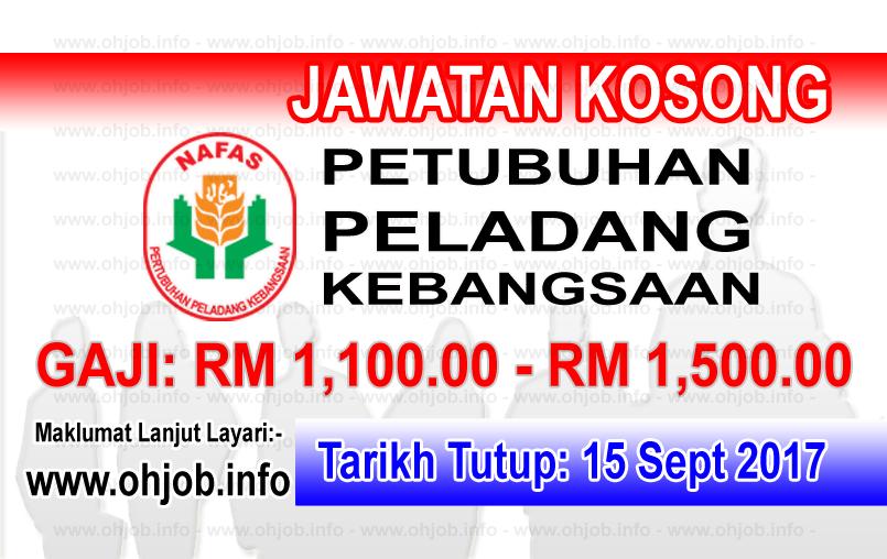Jawatan Kerja Kosong Pertubuhan Peladang Kebangsaan - NAFAS logo www.ohjob.info september 2017