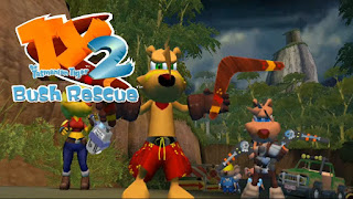 TY The Tasmanian Tiger 2 : Bush Rescue - PS2