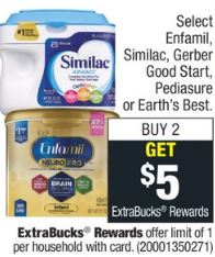 Enfamil, Similac, Gerber Good Start
