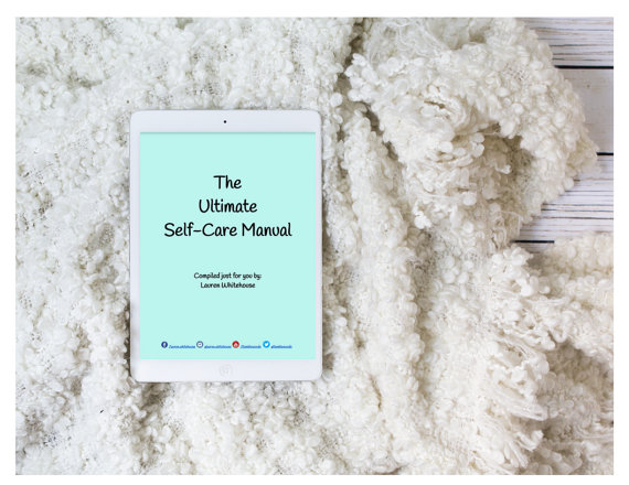 Self care digital manual - Spoonie Gift Guide