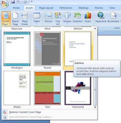 Cara Membuat Cover Makalah Yang Bagus Dengan Ms Word Tutorial Gadget