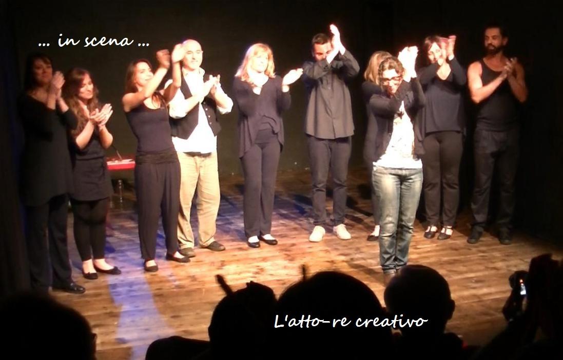 L'ATTORE CREATIVO laboratorio di formazione e sperimentazione teatrale