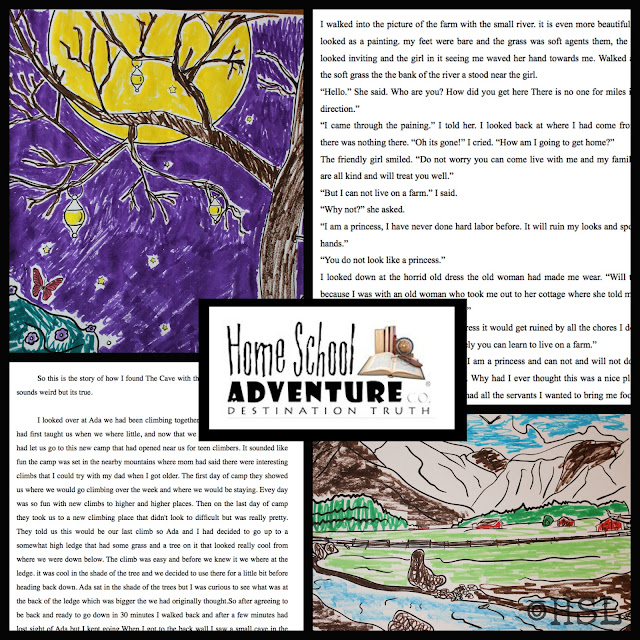 Homeschool Adventure, Creative Writing