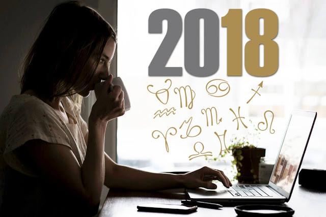 توقعات الأبراج لسنة 2018 كاملة للسوريين والعالم