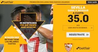 betfair supercuota Europa League Sevilla gana al Akhisar 25 octubre