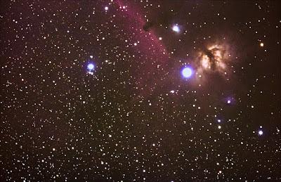 Nebulosa de Cabeza de Caballo B33 y de la Flama NGC2024