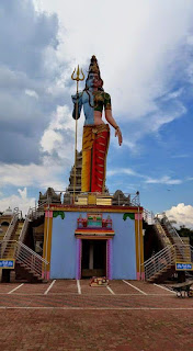 Ardhnarishwar Lord Shiva statue in South Africa