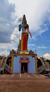 Ardhnarishwar Lord Shiva statue in South Africa
