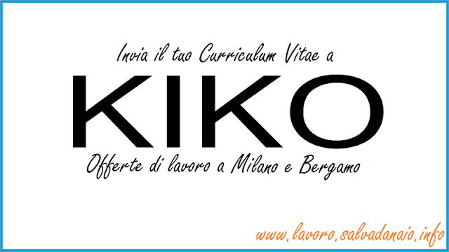 Kiko offerte lavoro 2016 a milano e bergamo for Offerte lavoro arredamento milano
