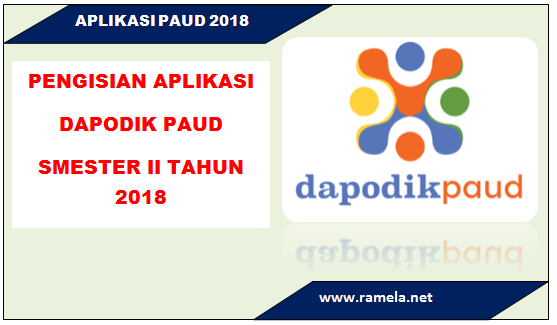 Dapodik PAUD semester 2017/2018