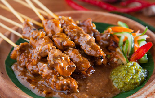 sate ayam indonesia