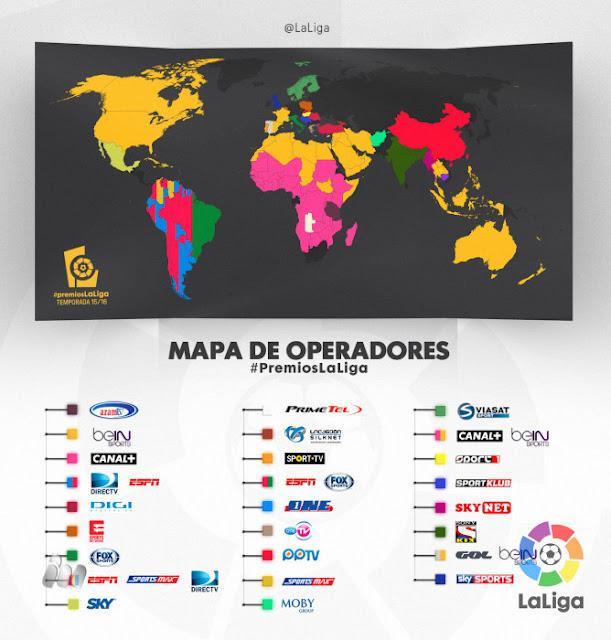 Más de 170 países seguirán en directo la Gala de los #PremiosLaLiga