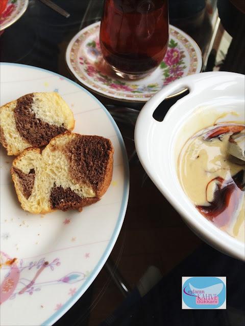 leopar çörek, kakaolu çörek, kek kalıbında çörek